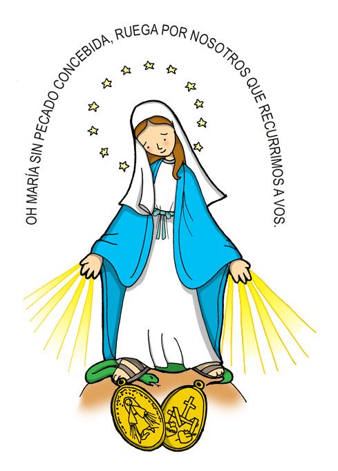 Celebración de la Virgen Milagrosa (1º y 2º EPO)