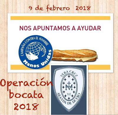 Recaudación Operación Bocata 2018