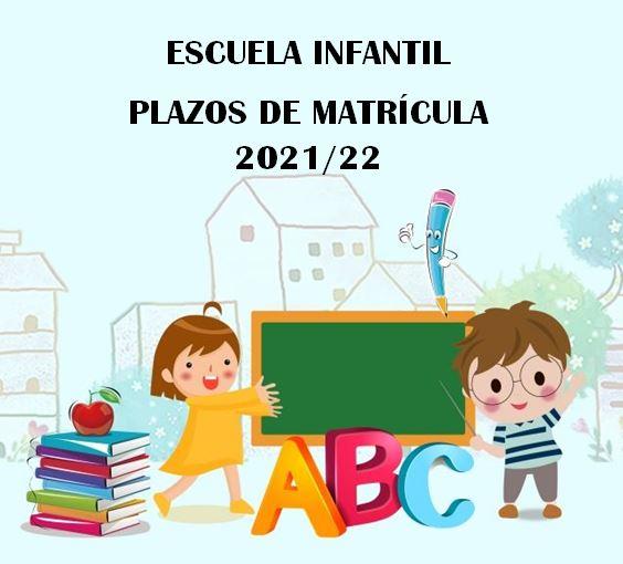 Matrícula Escuela Infantil